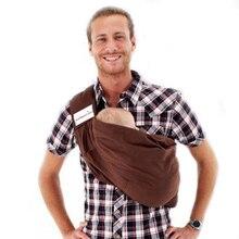 Cotton Baby Carrier Baby Sling Backpack Shoulder Front Carry Infant Kangaroo Ring Hip Seat Sling Wrap New 2016 — MKD013 PT49