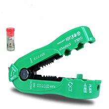 LAOA 다기능 와이어 커터 케이블 스트리퍼 라인 와이어 스트리핑 크림프 도구 미니 휴대용 핸드 툴 0.8 2.6mm LA815826