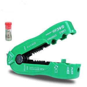 Image 1 - LAOA תכליתי חוט חותך כבל חשפנית קו חוט הפשטה מלחץ כלי מיני נייד יד כלים 0.8 2.6mm LA815826