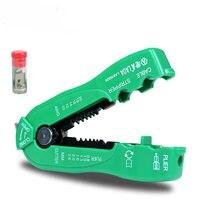 Laoa multifunction cortador de fio cabo de linha de descascamento de fio ferramenta de friso mini ferramentas manuais portáteis 0.8-2.6mm la815826