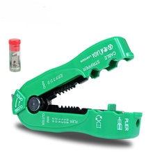 Laoa Многофункциональный кусачки для зачистки кабеля линии для зачистки проводов обжимной инструмент мини портативный ручной инструменты 0.8 2.6 мм la815826