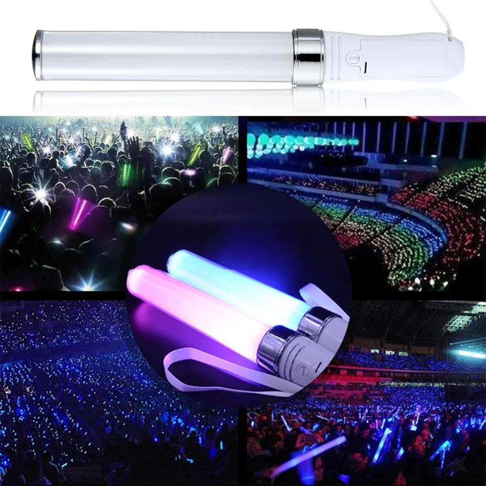 Lights & Lighting Atmosphere Light Creative Wedding Led Light Warning Lamp Vocal Concerts Silicone Magic Lights Stick Night Bulbs Camping