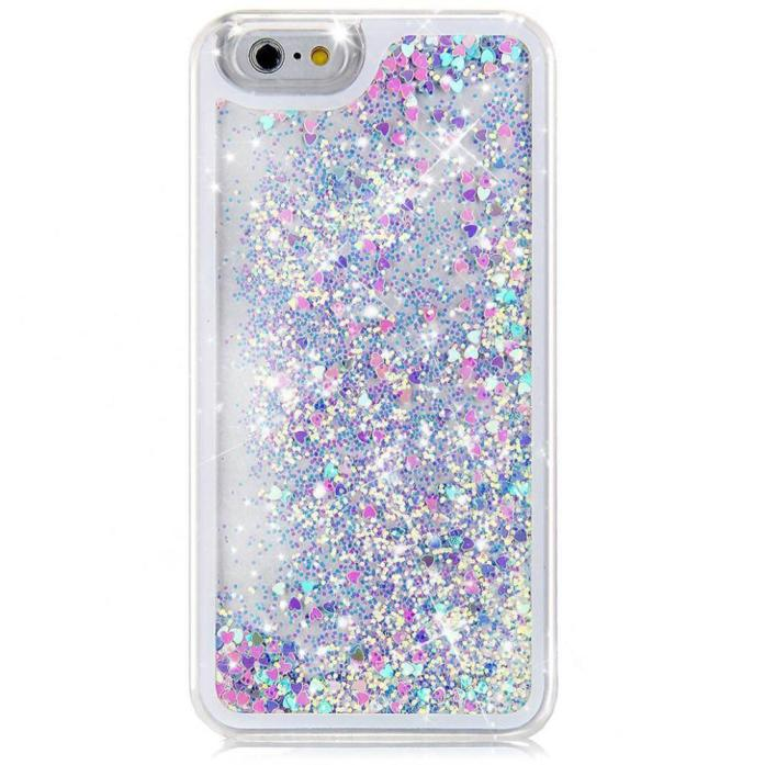 buy popular ec6eb 07a1e 2017 Flowing Liquid Floating Sparkle Heart Hard Cover Case for iPhone 6S  Plus 5.5inch IOS Mobile phone Back Cover Coque Capa-in Half-wrapped Case  from ...