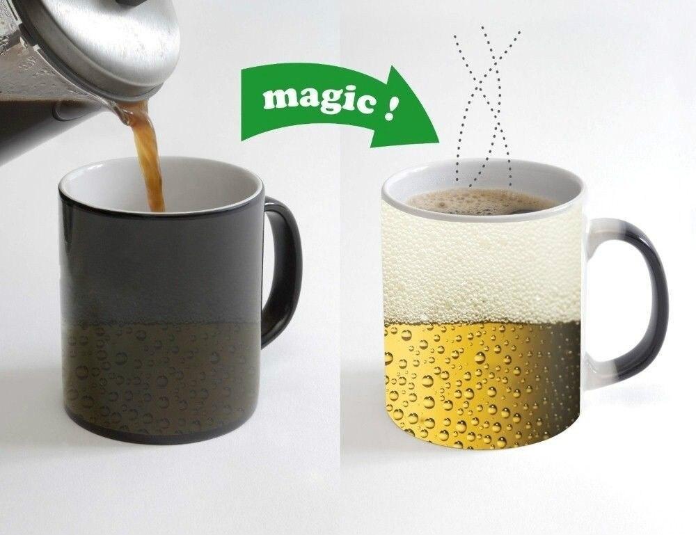 Xbox Heat Changing Sensitive Colour Change Mug Heat Cold Microsoft Coffe tea cup