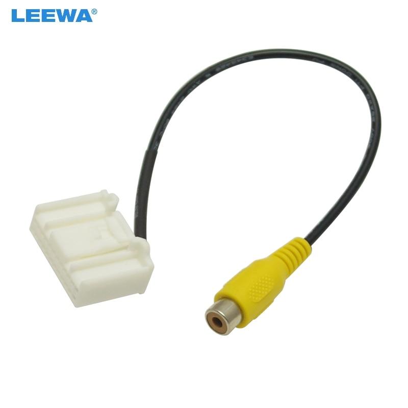 Car Electronics Cables, Adapters & Sockets Useful Feeldo Car Parking Reverse Rear Camera Video Plug Converter Cable Adapter For Honda Jade/crider Oem Car Head Unit Models #2398 Fast Color