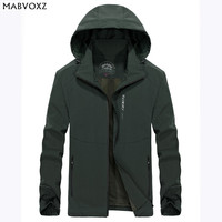 Quick Drying Waterproof Slim Fit New 2018 Spring Autumn Mens Jackets Hooded Casual Brand Clothing Breathable Simple Design AFS