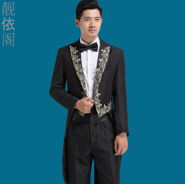 Chorus mariage groom wedding suits for men blazer boys prom tuxedo ...