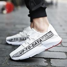 사계절 고품질 남성 캐주얼 신발 패션 부드러운 통기성 레이스 남성 신발 3 색 문자 신발 플러스 크기 39-44