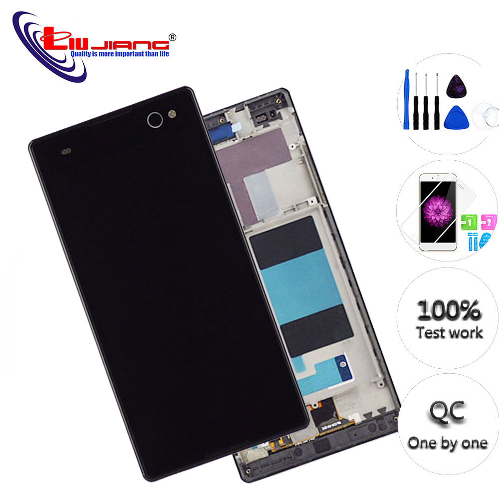 Display-Screen Sony Xperia Digitizer-Assembly Touch-Sensor Original for C3 with LCD D2502 title=