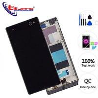 """5.5 """"para sony xperia c3 d2533 d2502 lcd tela de exibição original com sensor toque digitador assembléia LCDs de celular     -"""