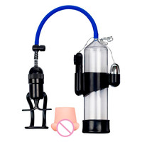 Hot Sale Enlarge Vacuum Pump Men's Booster Male Extender Sex Delay Device Sucking Machine Sexy Product for Men