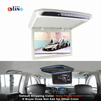 10.1 Inch Car Monitor Roof Mount Car LCD Color Monitor Flip Down monitor Overhead Multimedia Video Ceiling Roof mount Display