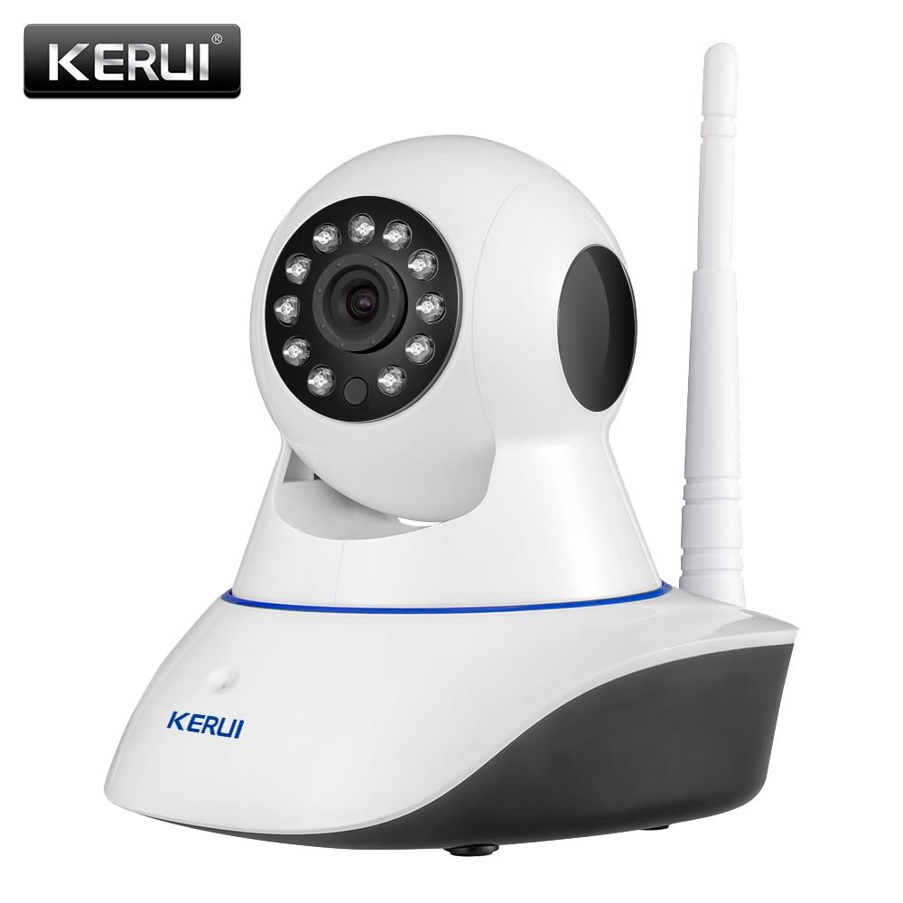 Купить на aliexpress Kerui в 720р HD WiFi беспроводной домашней безопасности камеры IP сети безопасности наблюдения CCTV камеры ИК ночного видения радионяня