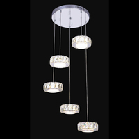 New Hot Modern Creative LED Crystal Lamp Crystal Ceiling Light Dining Room Living Room Hallway Crystal