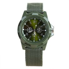 Hot Men's Military Army Style Nylon Band Quartz Analog Wrist  Sports Watches