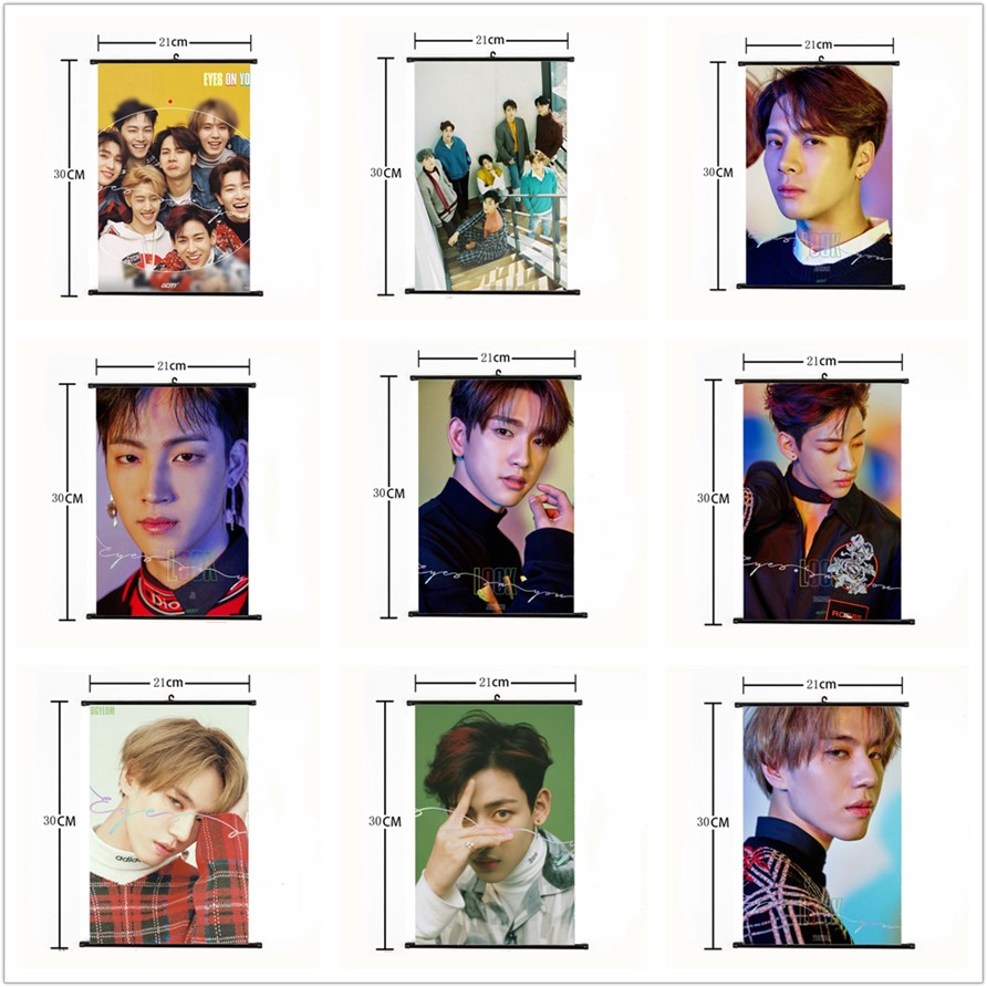 Kpop Exo Dont Mess Up My Tempo Wall Scroll Poster Chen Xiumin Hang Up Fabric Photo Picture Beads & Jewelry Making