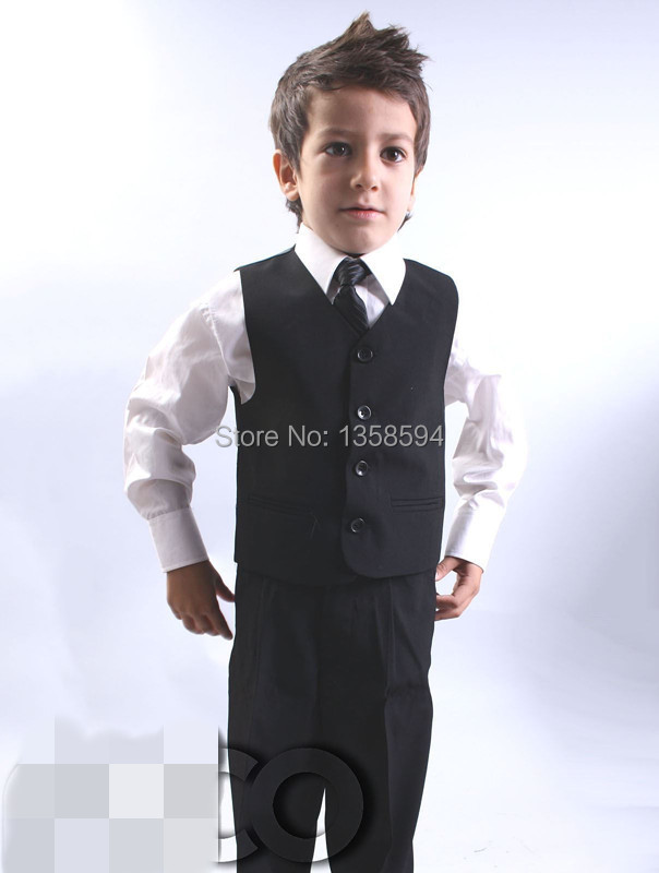 Aliexpress.com : Buy new arrived Fashion 2014 new Boys Black Suit ...