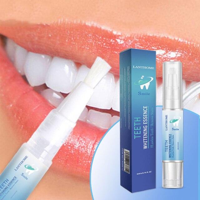 Nuevo lápiz de blanqueamiento de dientes mágicos de 1 PC eliminar manchas mágicas deslumbrantes blanco sonrisa perfecta rotativa peróxido Gel lápiz de Limpieza de dientes