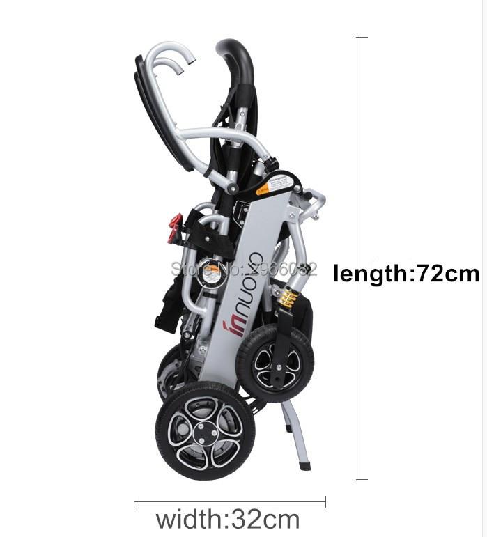 Haute qualité léger portable fauteuil roulant électrique pour personnes handicapées