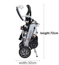 Высокое качество легкий портативный Электрический коляске для людей с ограниченными возможностями