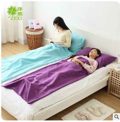 Portable Hotel Indoor Dirty Sleeping Bag Single Insulation Outdoors Travel Folding Bladder