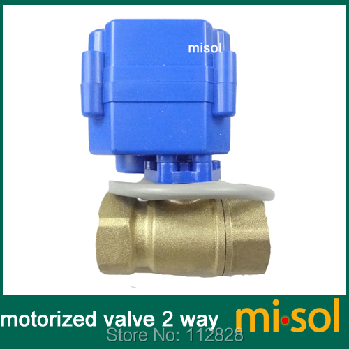 "G1//2"" DN15,2 way,CR02 1pcs Motorized ball valve electrical valve"