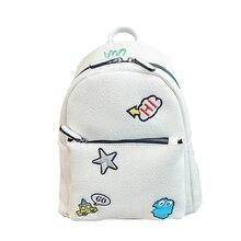 Nueva Marca de Diseño de Dibujos Animados Mochilas de Cuero Hombro de Las Mujeres Bolsa de Ordenador Portátil de Viaje Mochila bolsas Escolares para Adolescentes Mochila Li743