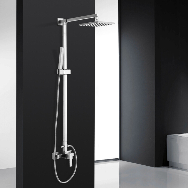 Dikon Luxury Bathroom Shower Faucet 304 Stainless Steel Mixer Tap ...
