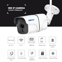 Witrue IP Camera Wifi Wireless 1080P Outdoor Waterproof Security Camera Audio Record Motion Detection Night Vision CCTV Camera