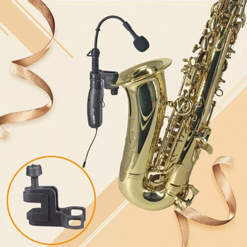 true diversity uhf professional wireless instrument microphone for saxophone tuba trumpet with Receiver & Transmitter