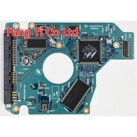 Free shipping HDD PCB for TOSHIBA / G002825A /  MK5075GSX,HDD2J94,HDD2J93,HDD2J96,HDD2K51,HDD2M03,HDD2H85,HDD2L34,HDD2H83