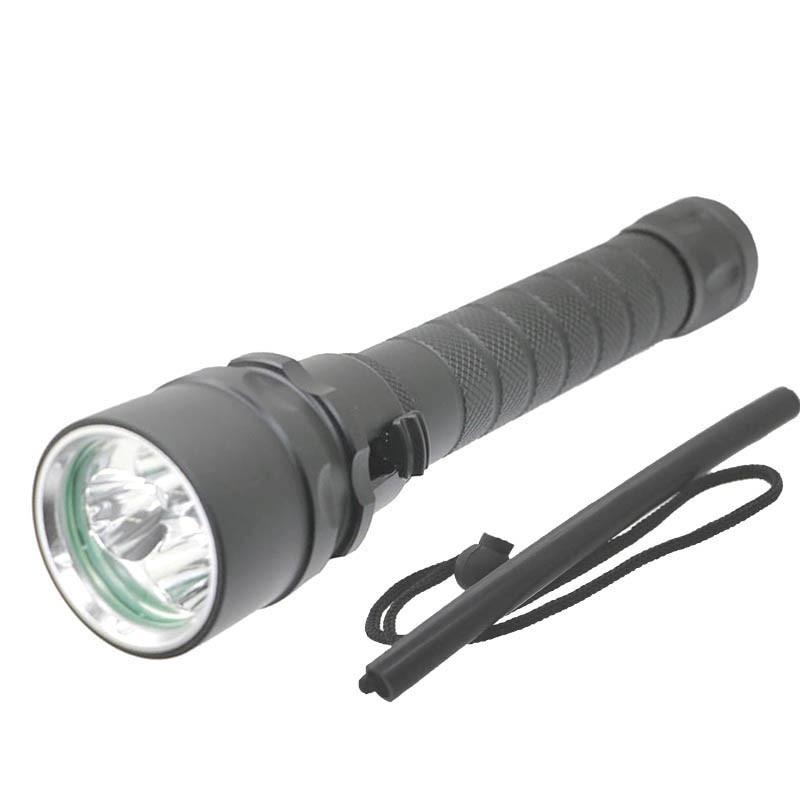 Diving LED Flashlight 18650 Underwater lights 3X XML L2 6000Lumen LED Torch 100M Waterproof LED Flash