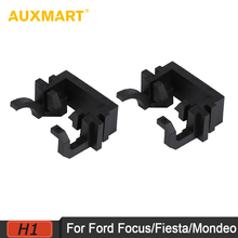 Auxmart H1 LED kit Headlights Bulb Base Holder Adapters H1 Headlamp Retainer Sockets Adaptor for Ford Focus Fiesta Mondeo