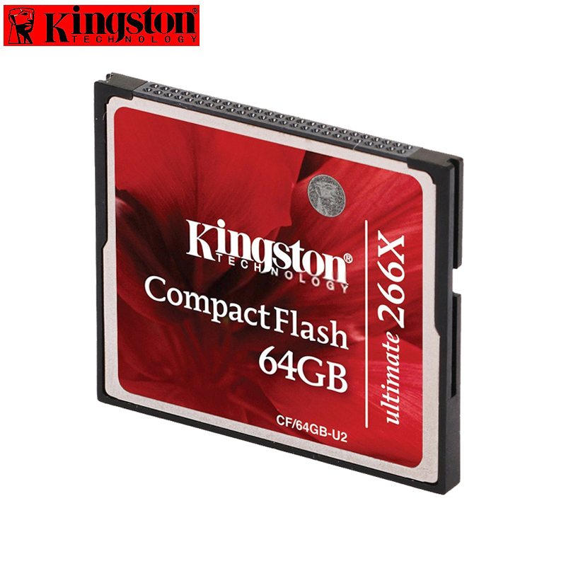 Kingston CF Card 16GB 32GB Flash Card 266X High speed For Canon 50D camera card 5d3
