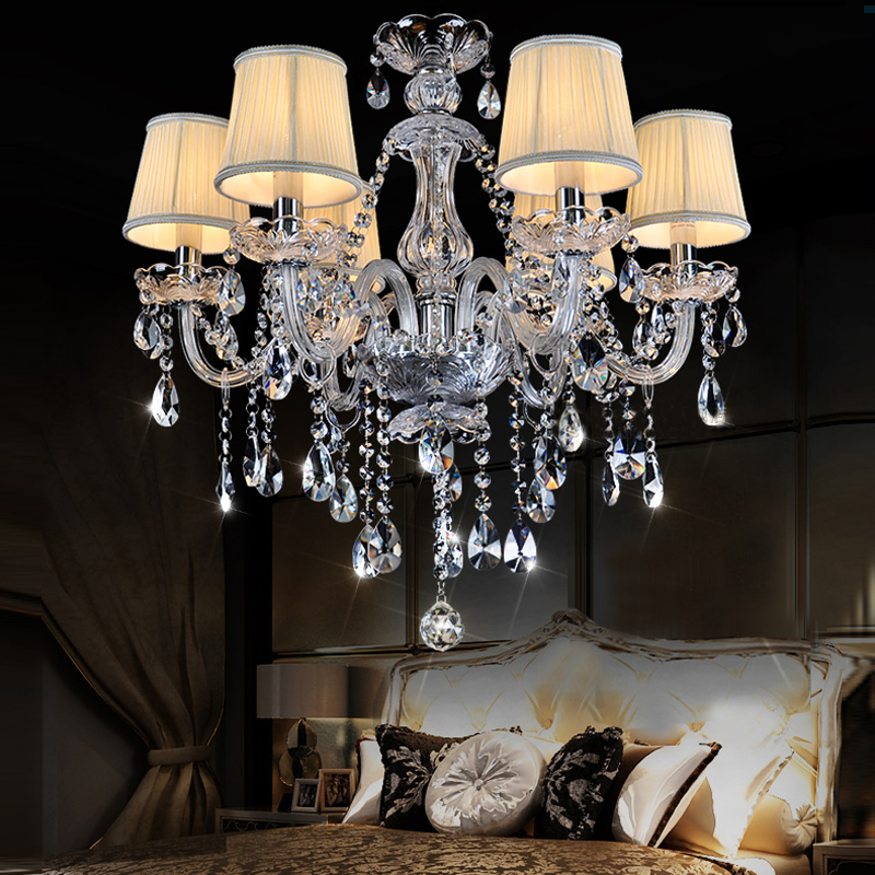 luxury kitchen lighting Crystal Chandelier Light Fixture Modern crystal Light Luxury Room Chandelier Lamp Top Crystal Chandelier