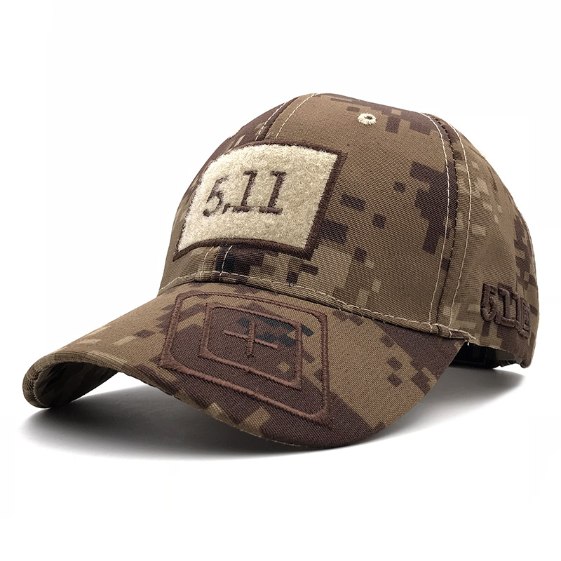 2019 Army Camouflage   Baseball     Cap   511 Tactical   Caps   Outdoor Sport Training Snapback Hat Jungle Camo Hunting Hats For Men