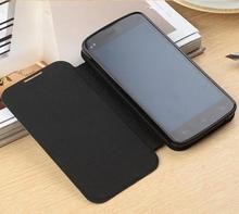 2015 New Arrival For philips i908 Luxury Flip PU Leather Case Cover For Philips i908 phone Stand Card Holder Cover with film
