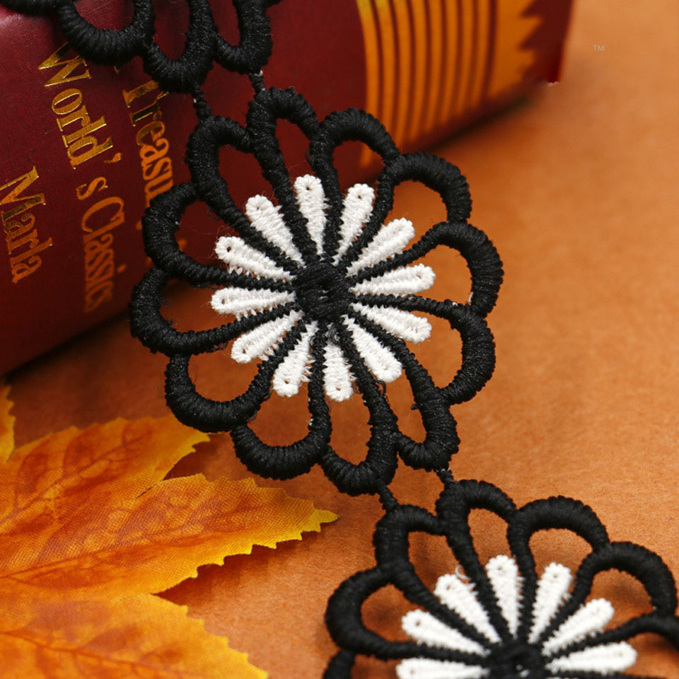 4.6cm πλάτος λουλούδι δαντέλα - Τέχνες, βιοτεχνίες και ράψιμο - Φωτογραφία 3