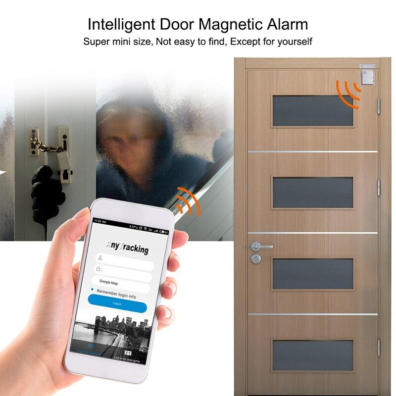 GSM Mini GPS Tracker Car LBS Car Locator Smart Door Security Alarm System Magnetic Smart Door Alarm Home Safety Voice Monitor