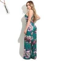 NOVO 2 Peça Set Verão Moda Feminina Imprimir Floral 2 Peça conjunto Topos de Culturas Largas Calças Perna Treino Sexy Feminino Terno Ocasional