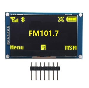 "Image 2 - 2.42"" Inch 12864 128 * 64 OLED Display Module IIC I2C SPI Serial White/Blue/Green/Yellow LCD Screen for C51 STM32 SSD1309"