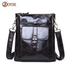 Joyir Genuine Leather Men Bag Shoulder Casual Retro Bags Men Genuine Leather Crossbody Bags For Men Messenger Bags Handbags 8691