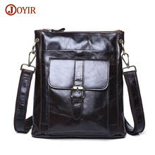 Joyir Genuine Leather Men Bag Shoulder Casual Retro Bags Men Genuine Leather Crossbody Bags For Men Messenger Bags Handbags 8691
