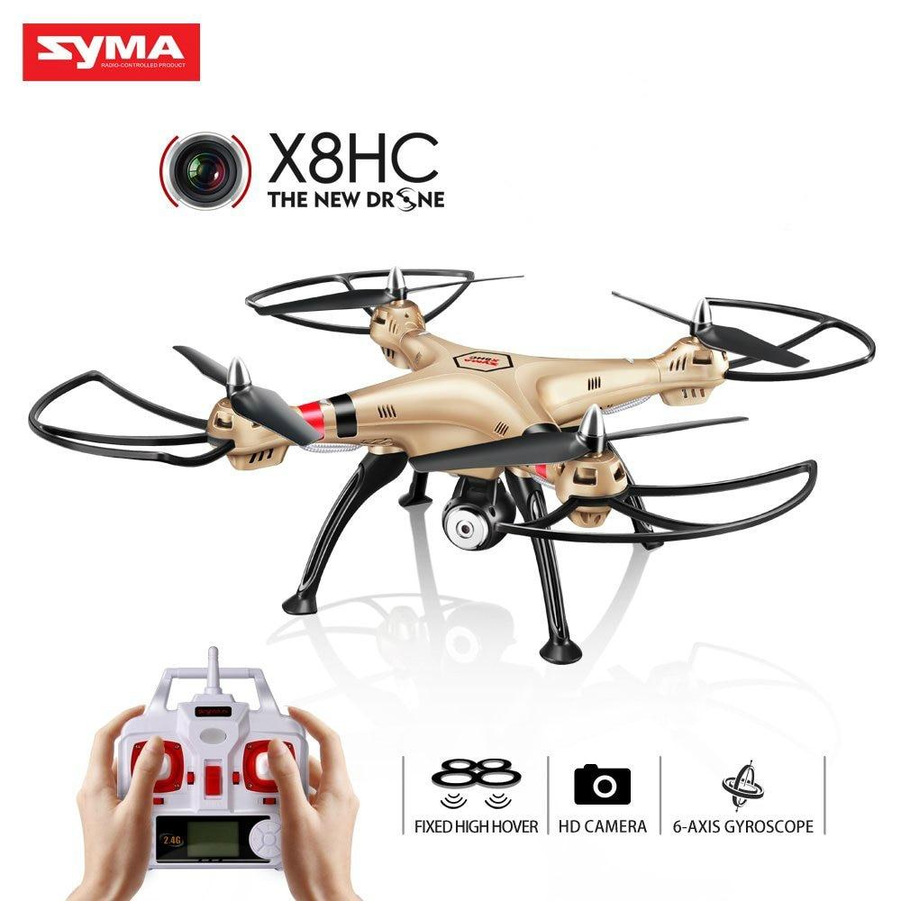 Syma X8HC X8HC-1 Con Cámara de 2MP HD 6 CANALES 6axis Drone RTF RC Quadrocopter