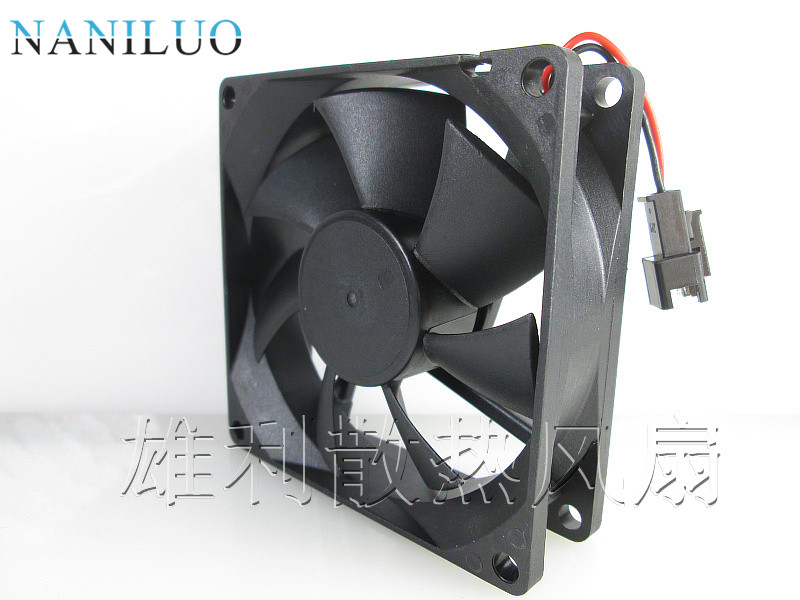 NANILUO Free Shipping New Original TX8025L12S 12V 0.08A 8CM 80x80x25mm Quiet Cooling Fan
