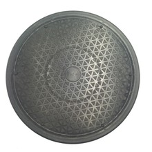 Rotating Turntable Pottery 10/11.8 Black Wheel Round Turnplate Clay Tool Sculpt Model Making Plateform Rotate