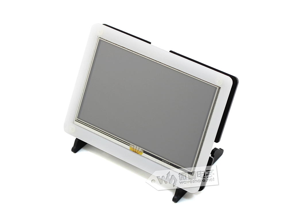 5 Inch Raspberry Pi Screen LCD Touch Screen HDMI Display With Black Case