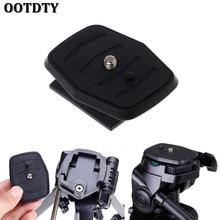 цены OOTDTY Quick Release Plate Universal QB-4W Tripod Screw Adapter For YUNTENG Velbon Sony