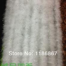 """P152 20 шт./лот 200 см(7"""") Куриное Перо белое свадебное Боа Из Перьев Марабу"""