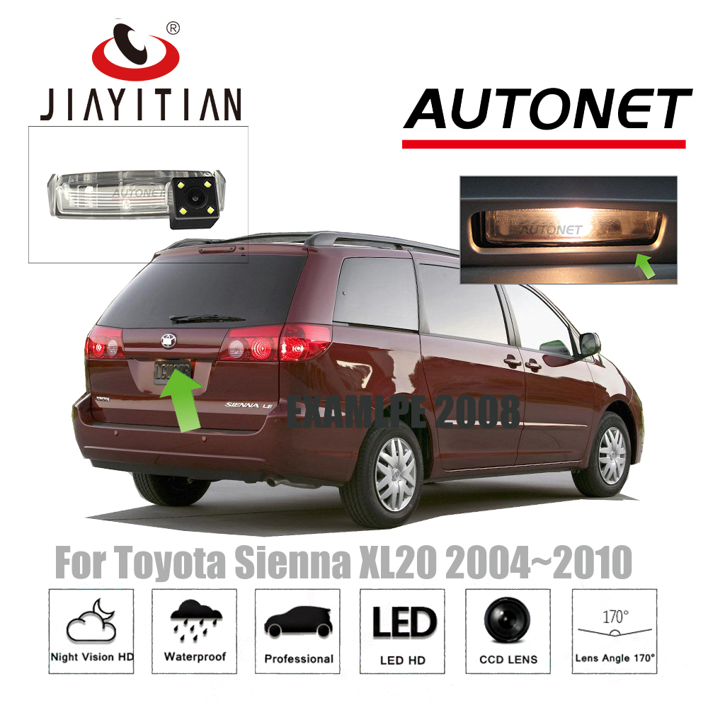 JIAYITIAN rear view camera For Toyota Sienna XL20 2004~2010/CCD/Night Vision/Backup Came ...